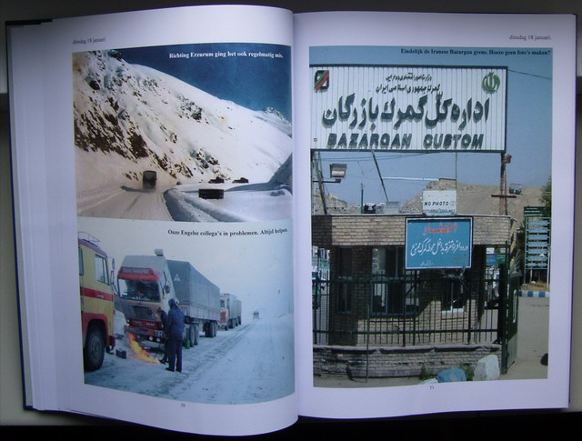 Bad roads-Frozen diesel and Bazargan border